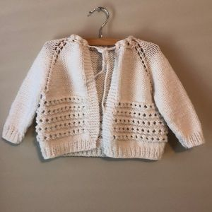 Other - Vintage Hand Made Baby Sweater